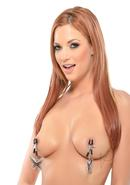 Fetish Fantasy Series Butterfly Nipple Clamps - Silver
