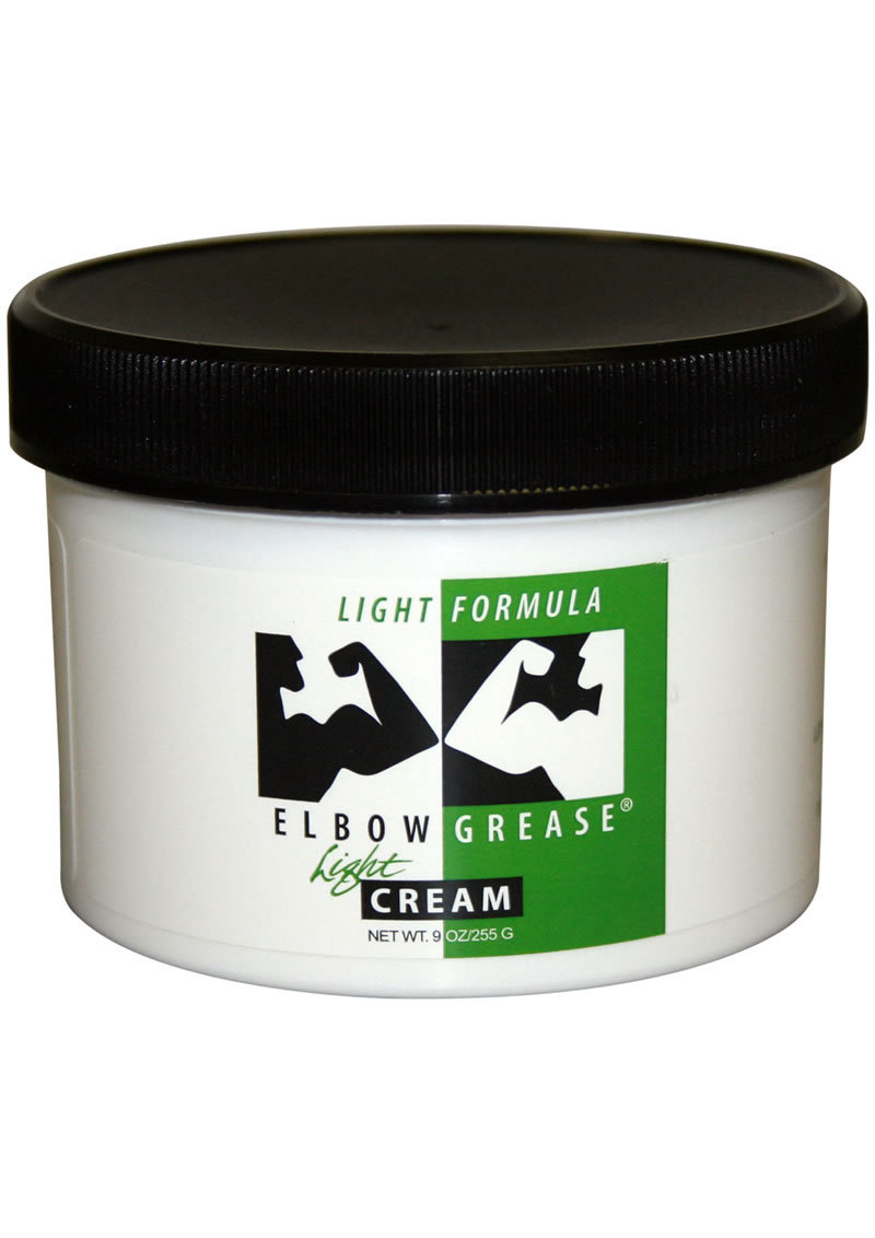 Elbow Grease Light Formula Light Cream Lubricant 9 Ounce