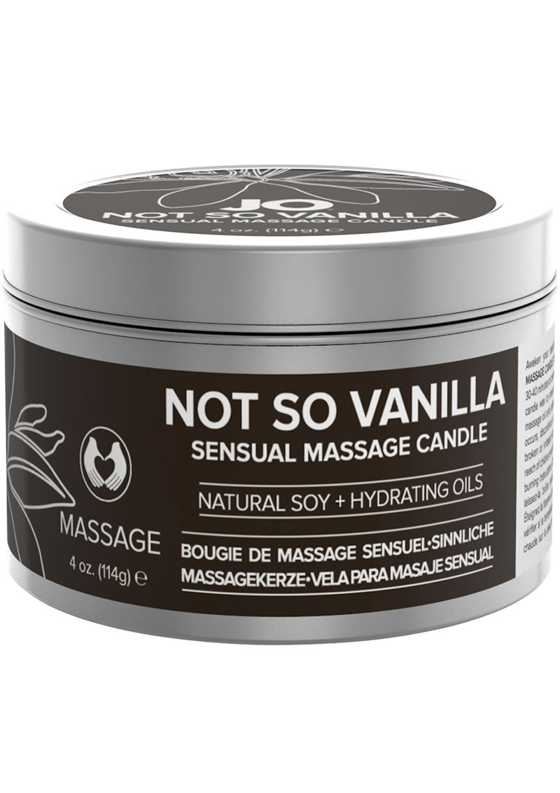 Jo Not So Vanilla Massage Candle 4oz