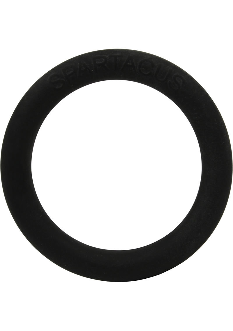 Rubber Cock Ring 1.25 Inch Black